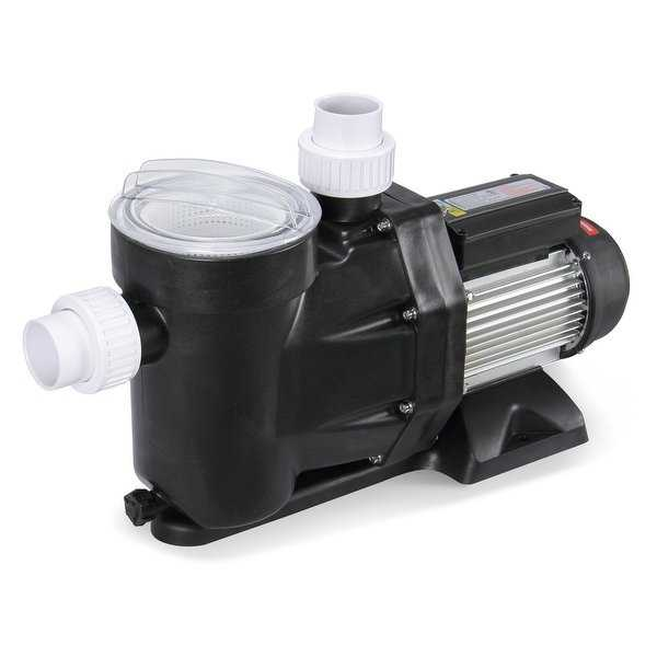 ARKSEN Electric Transfer Water Booster Pump Portable For Swimming Pool Hot Tub Spa, 0.8HP 110-120V