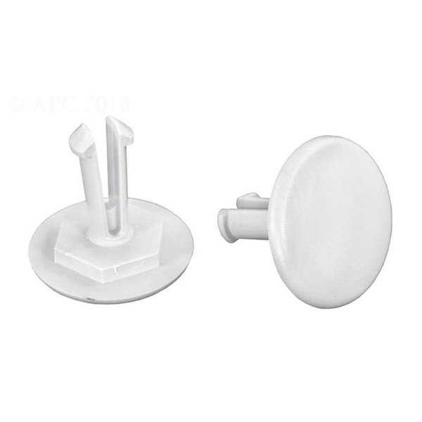 Hayward PVXS0006237 Wheel Retainer Clip, Gray - Set of 2