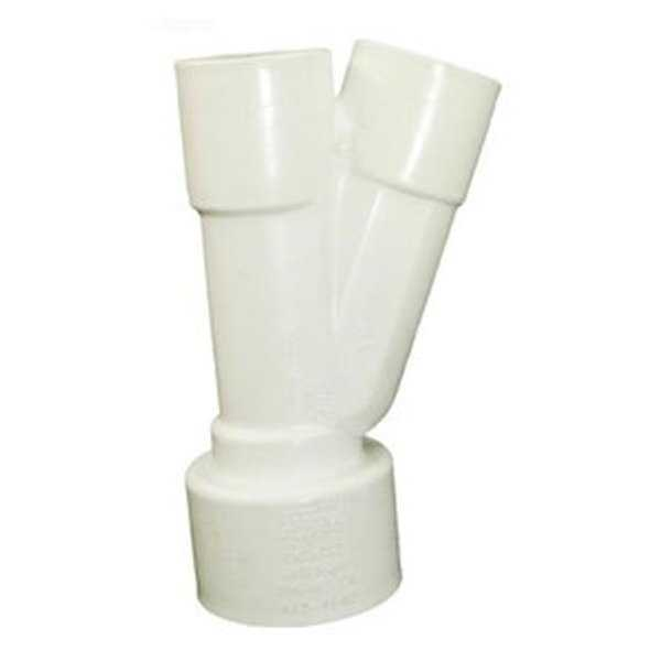 Waterway Plastics WW4134140 22.5 deg Wye 1.5 in. Socket
