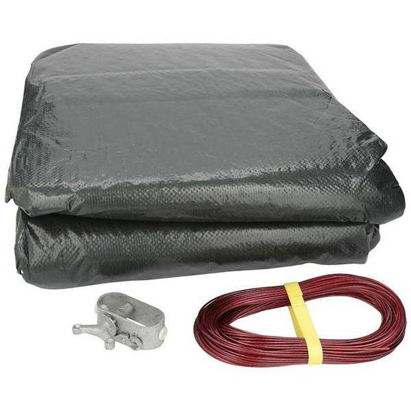15 x 30 ft. Estate Plus 12 Year & 3 Year Oval Winder Cover