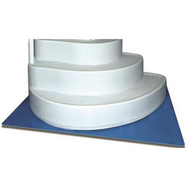 87956 Swimline 36 x 36 In. Protective Pool Ladder Mat And Pool Step