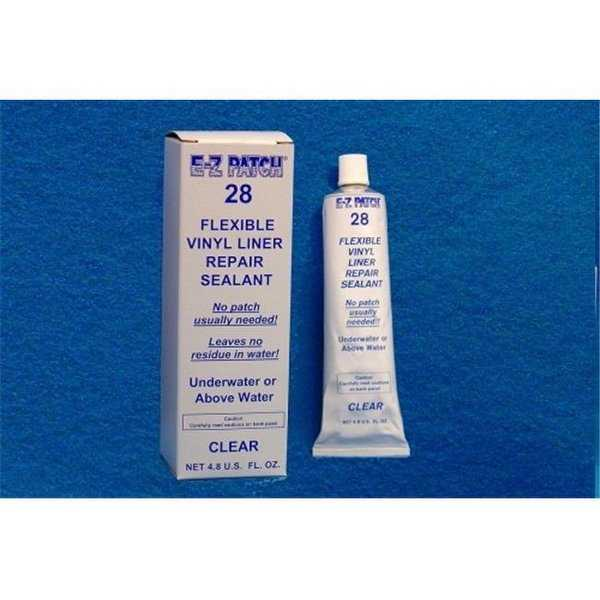 EZ Products 4.8 OZ TUBE - CLEAR PATCH INCLUDED EACH - ANY QUANITY